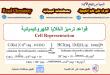 علامات ( تعليم أو ترميز) الخلايا الكهروكيميائية Cell Representation