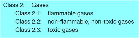أقسام الرتبة (2) الغازات